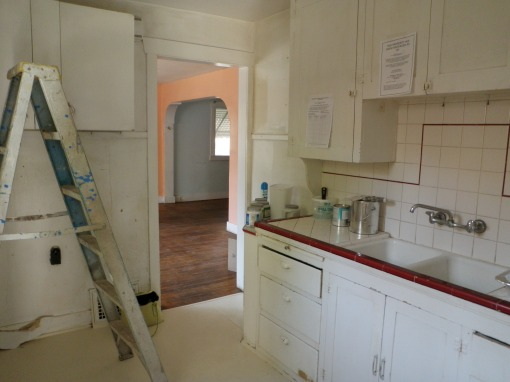 Kitchen minus appliances