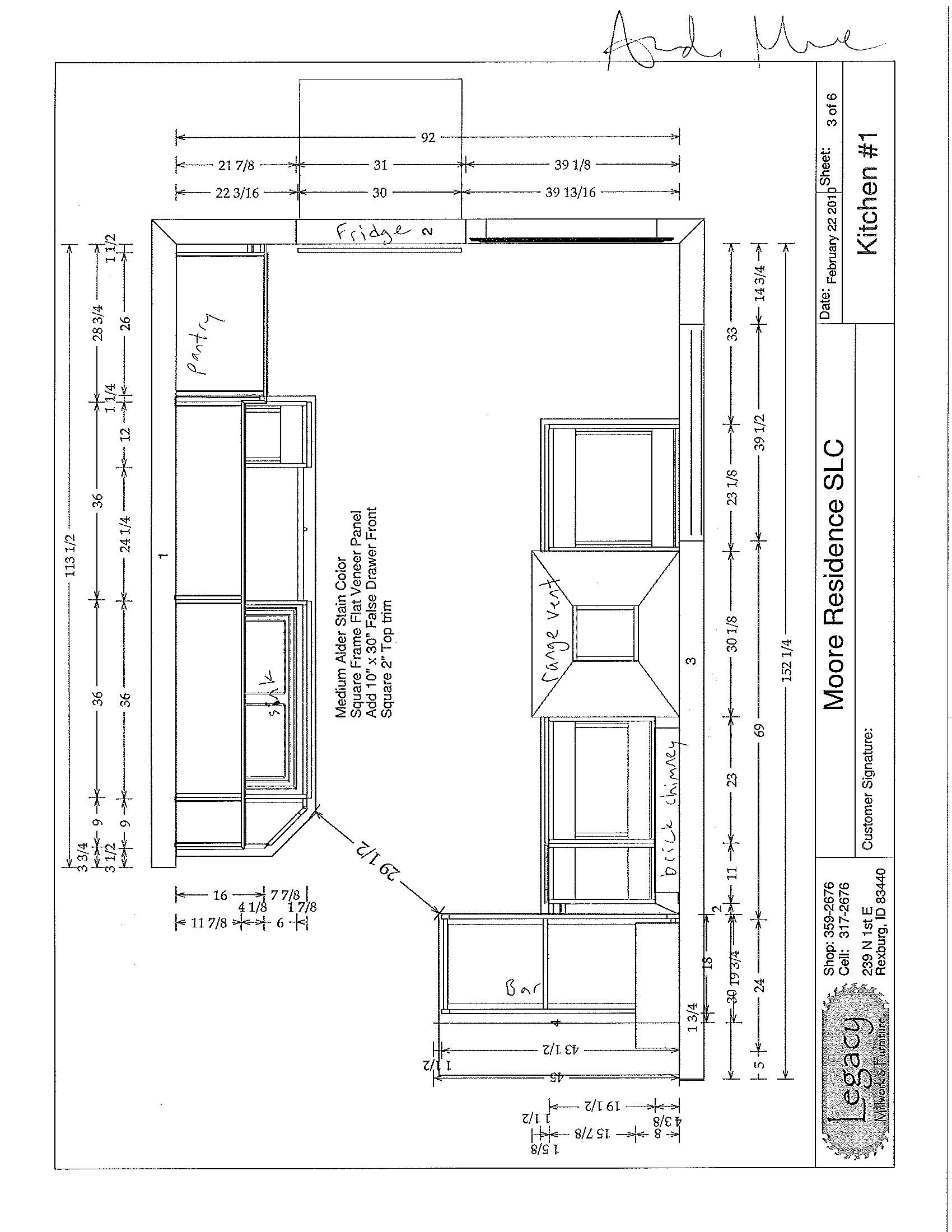 Inspirational Kitchen Floor Plan Dimensions Taste